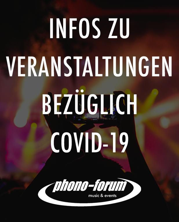 Infos zu Veranstaltungen bezüglich Covid-19